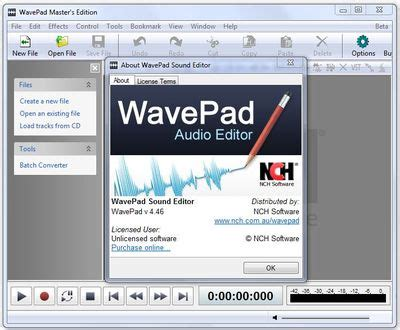 nch wavepad registration code free download